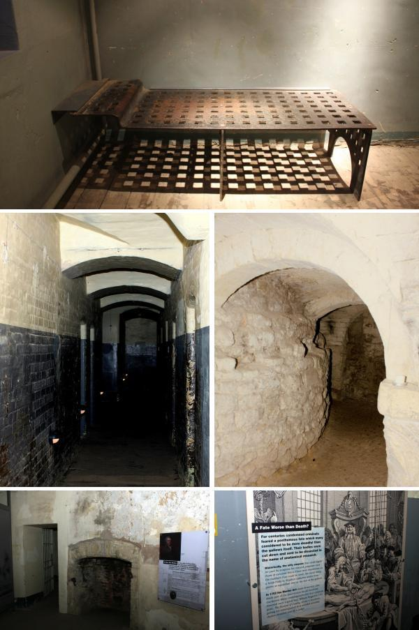 Oxford Castle cellars Oxford Malmaison: From Dingy Medieval Prison to Luxury Hotel