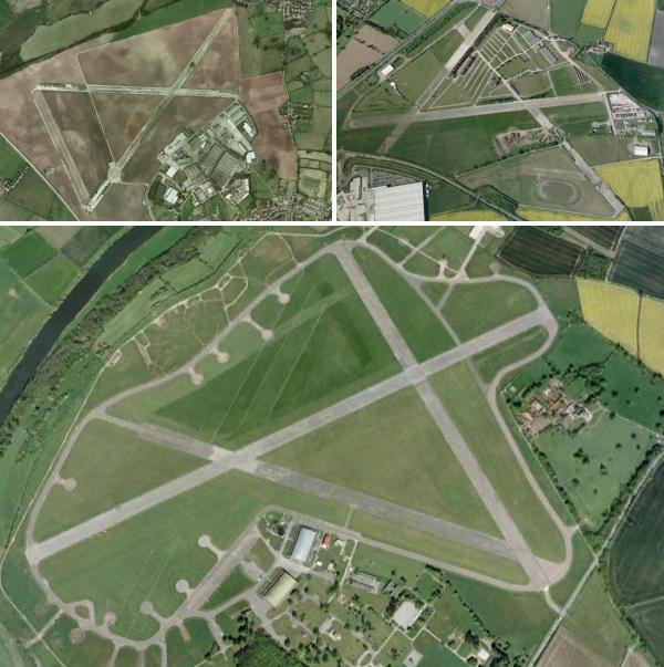 Deserted Wartime Airfields And Bases Of The UK