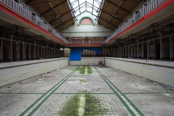 Harpurhey Baths Urban Decay: 7 Abandoned Swimming Pools