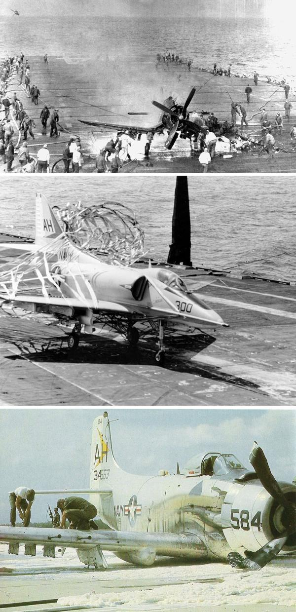 Top two images via U.S. Navy; bottom image by U.S. Air Force