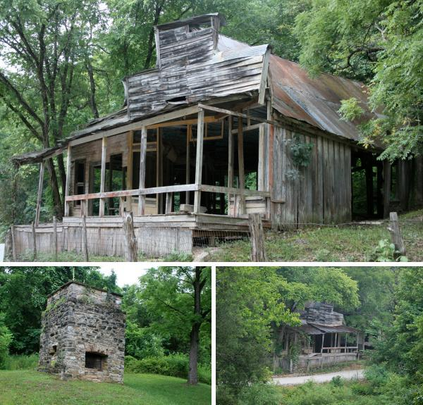 rush arkansas Ghost Towns & Abandoned Mines in Alaska, Arizona and Arkansas