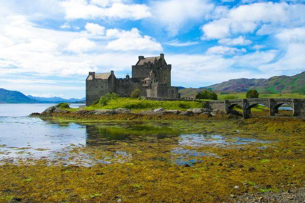 eilean donan castle Vernacular Architecture on Scotlands Remote Isle of Tiree