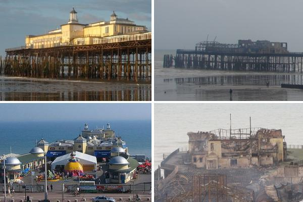 hastings pier Up in Flames: Hastings Pier, RIP