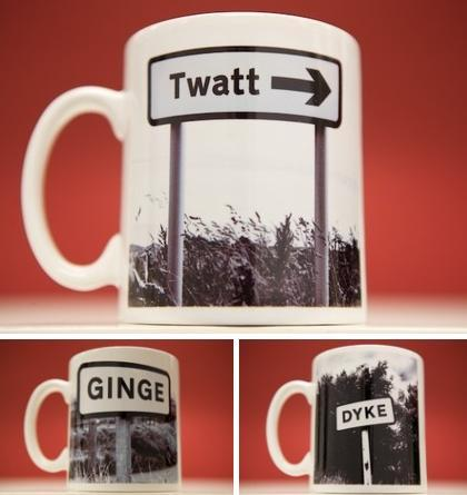 lesser spotted britain mugs Lesser Spotted Britain: Quirky Signpost Photography by Dominic Greyer