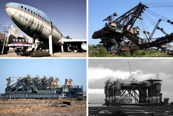6 Abandoned Mega-Machines: Jumbo Jets, Space Shuttle Transporters & More
