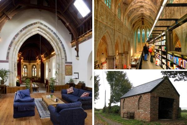 church and chapel conversions1 6 Creatively Converted Chapels and Churches: Bookshops, Bars & More
