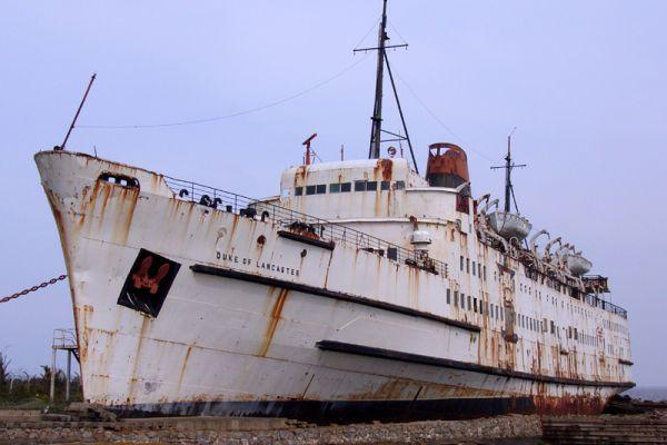 Group aims to Preserve TSS Duke of Lancaster Passenger Ferry, Llanerch-y-Mor, Wales
