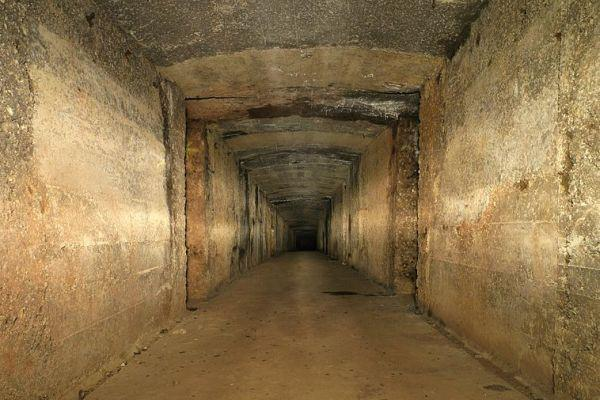 Wikimedia Featured Picture: Underground Galleries at Fort de Roppe