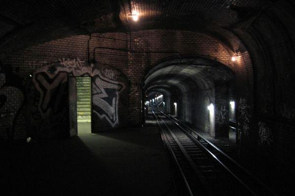 abandoned subway station Spooky London Legend: Whitechapels Dead Body Train