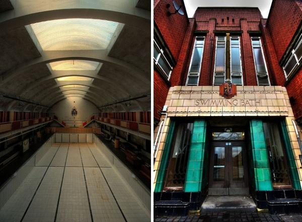 chadderton baths oldham Britains 10 Most Beautiful Abandoned Swimming Pools