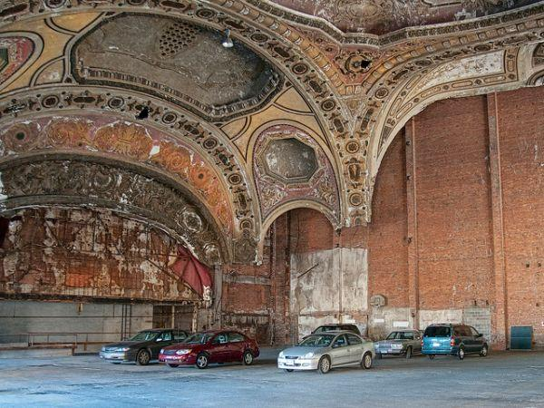 michigan theater parking garage detroit Ghosts of the Grande: Detroits Abandoned Rock and Roll Palace