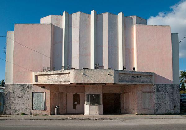 Abandoned Places Movie Theater
