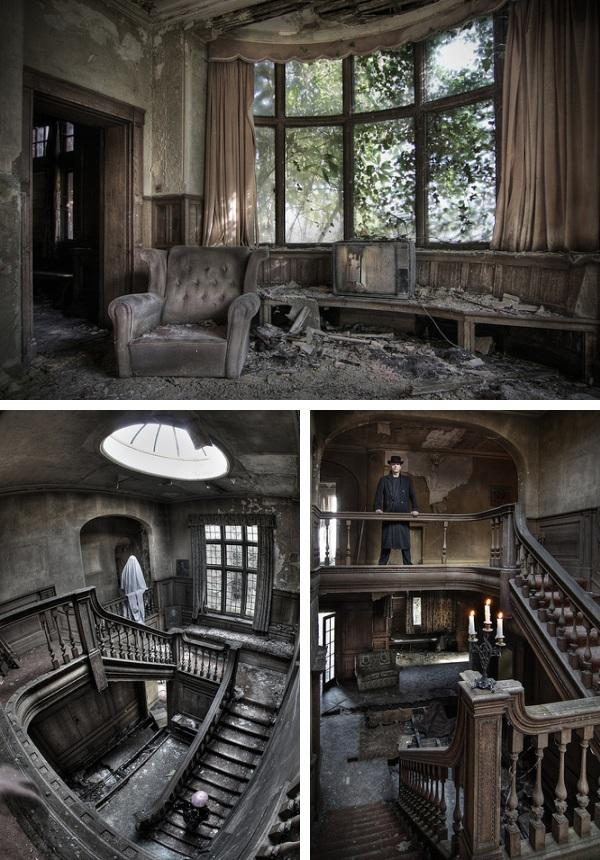 inside abandoned buildings photography - photo #30