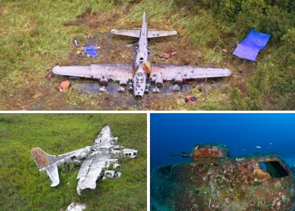 crashed-b-17-flying-fortress-wrecks-papua-new-guinea