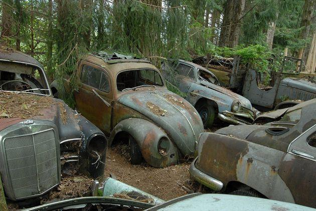 Switzerland S Kaufdorf Vehicle Graveyard Urban Ghosts