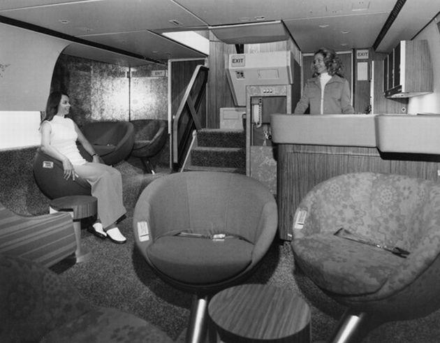 When Flying was Fun: Elegant Lower Level Lounges on Lockheed TriStars