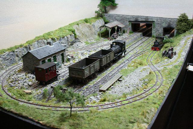Narrow Gauge Quarry Railway Model Recreates Reality