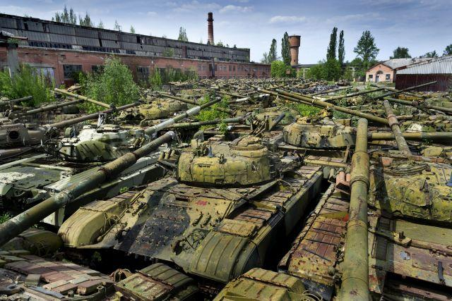 10 Mighty Tank Graveyards Amp Abandoned Battle Vehicles Of The World Urban Ghosts Media