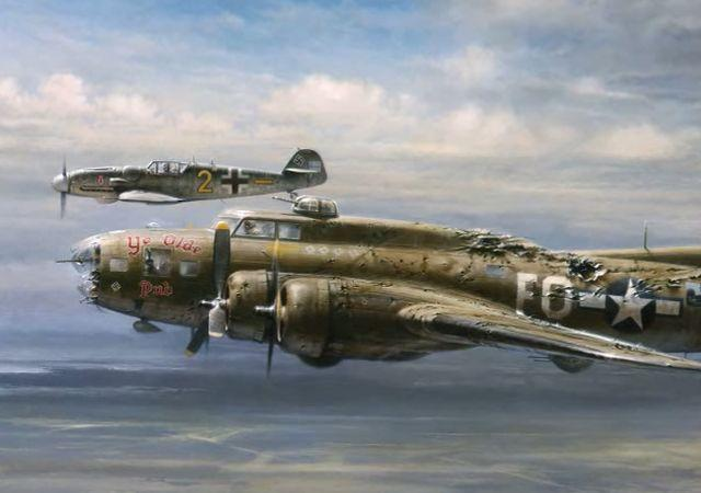 Ole Piss On You B17 Bomber