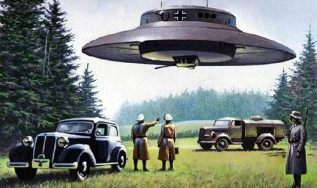 10 Nazi Ufos Third Reich Conspiracy Theories on Us History Exploration