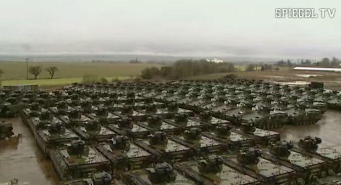 Rockensussra 39 s german tank graveyard dismantling for Youtube spiegel tv