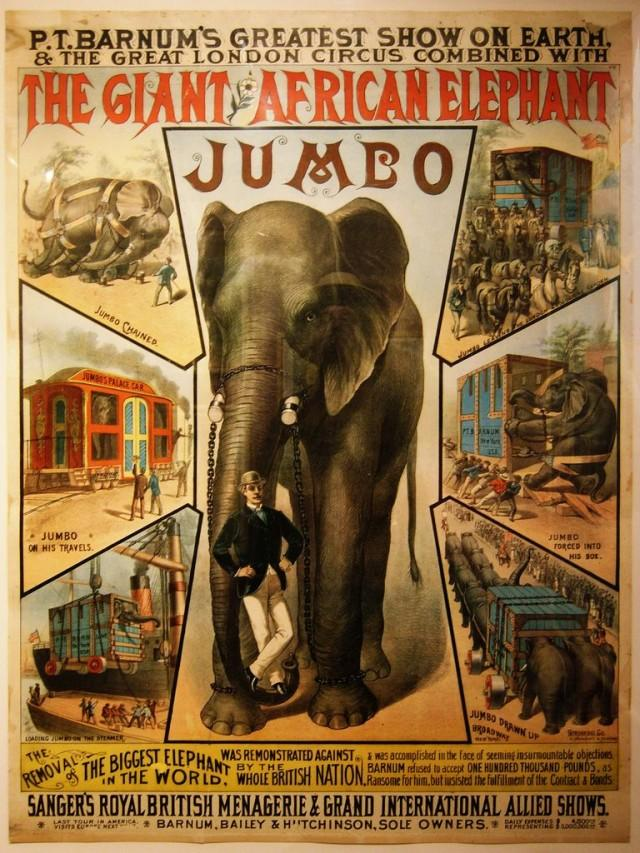 The Tragic Tale of Jumbo the Elephant