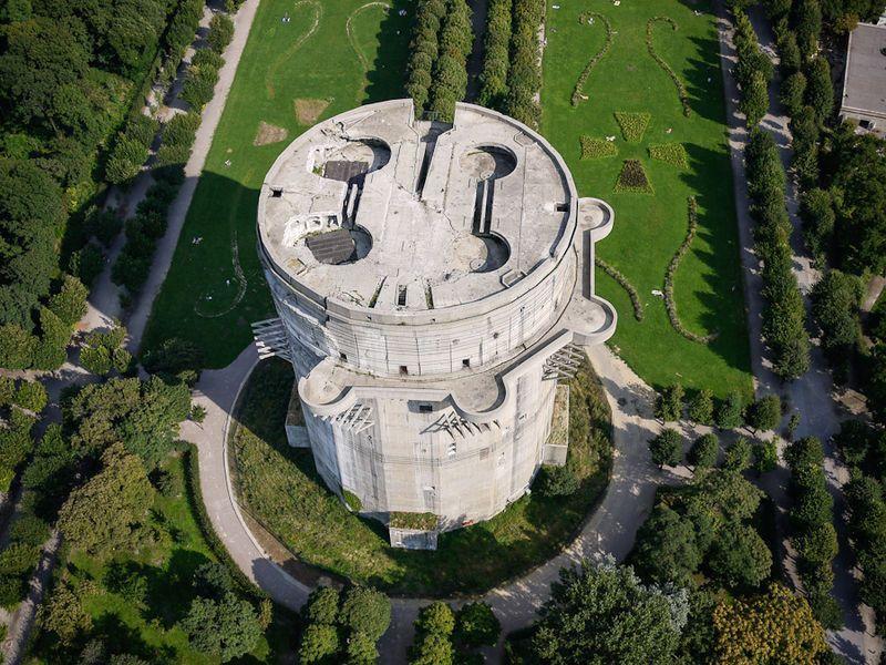 abandoned-flak-tower-Flakturm-VII-Augarten-Vienna