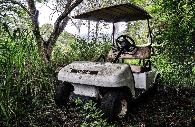 abandoned-golf-cart