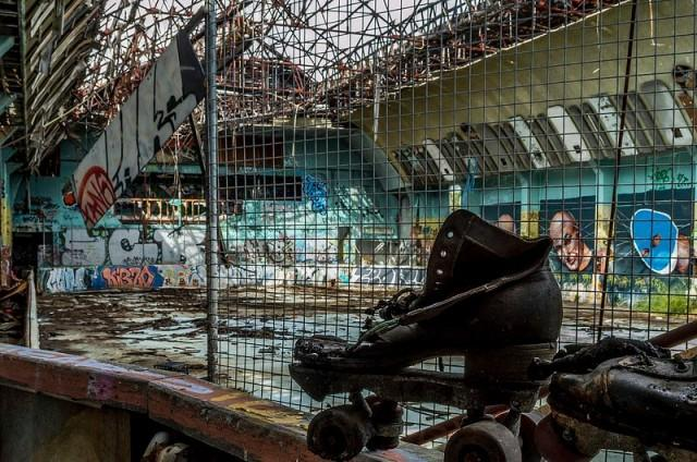 Brisbane's Abandoned Red Hill Skate Arena in Pictures