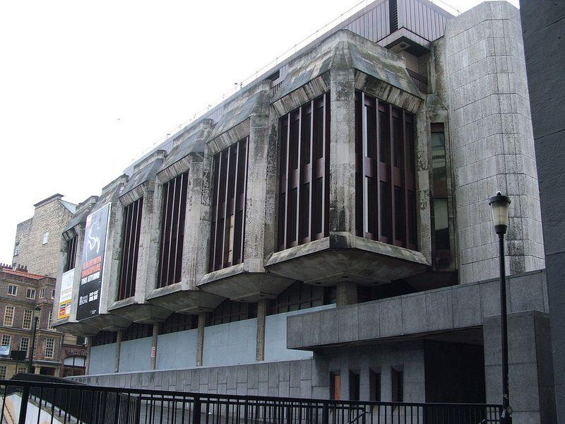 Brutalist Newcastle: the abandoned Bank of England building before demolition