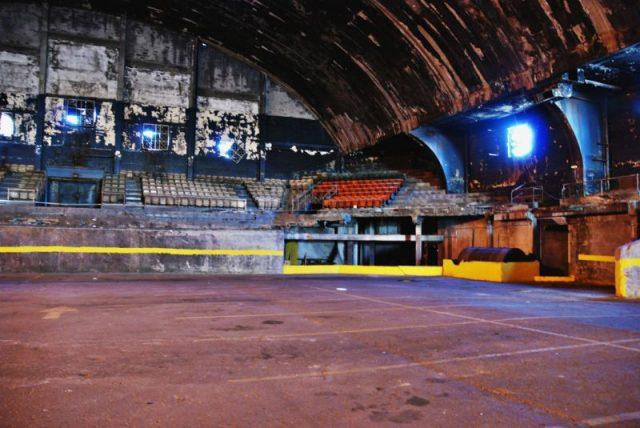 Inside the Abandoned Washington Coliseum, District of Columbia