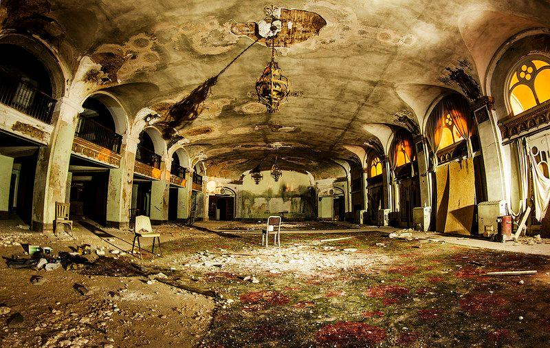 Inside The Abandoned Baker Hotel In Mineral Wells Texas 6