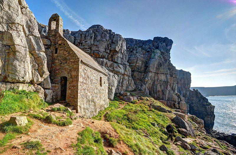 Mysterious St Govan 39 S Chapel On The Pembrokeshire Coast Urban Ghosts