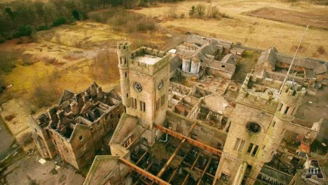 The Ruins of Hartwood Hospital from Above (VIDEO)