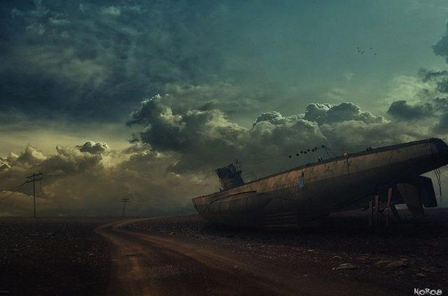 Eerie Concept Art Depicts Earth After the Apocalypse