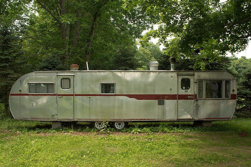 Inside A Travel Trailer >> Rough Camping: 10 Abandoned Trailers, Caravans & Campervans - Urban Ghosts