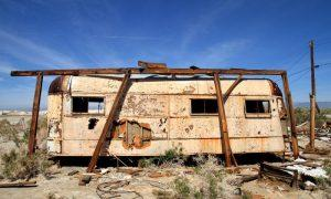 Rough Camping: 10 Abandoned Trailers, Caravans & Campervans