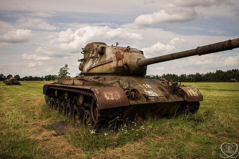 Armoured Vehicles For Sale >> Abandoned Tanks Guard the Farmland - Urban Ghosts Media