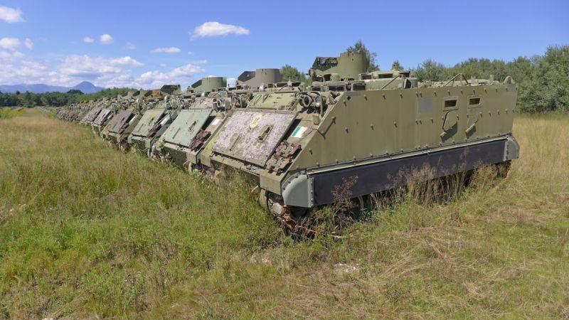 Armored Vehicles For Sale >> A Graveyard of Mothballed Italian Army Tanks & APCs ...