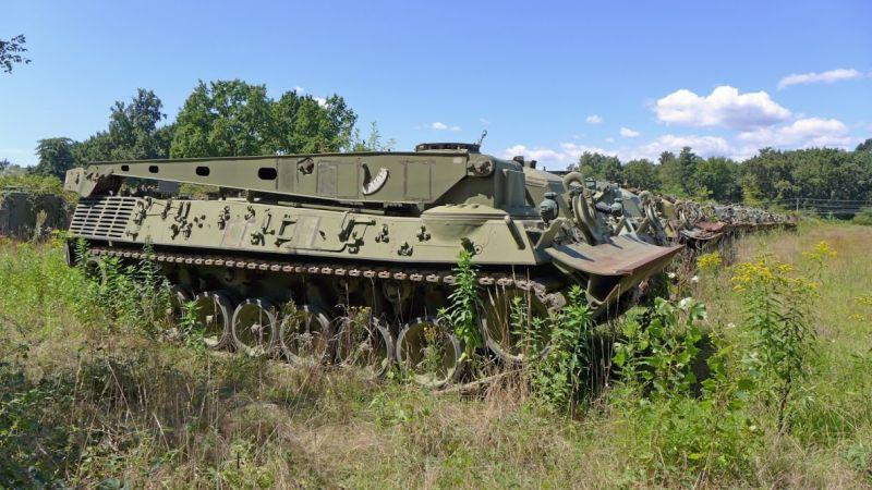 Army Vehicles For Sale >> A Graveyard of Mothballed Italian Army Tanks & APCs - Urban Ghosts