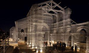Raising the Ghostly Form of an Ancient Ruined Church – With Wire