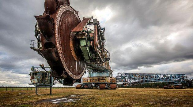 Abandoned Bucket-Wheel Excavator: Behold the Earth Moving Monster