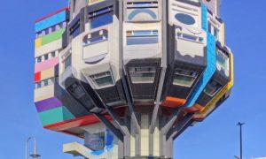 Bierpinsel: The Landmark 'Beer Brush' of Berlin Steglitz