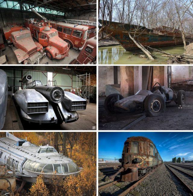 Defunct Machines: 12 Forgotten Vehicles Around the World