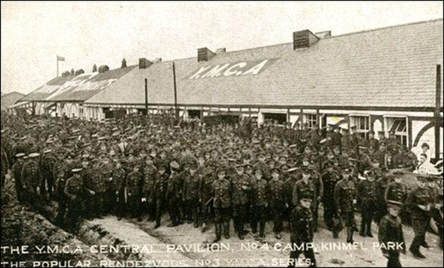 Great War mysteries: troops assembled at Kinmel Camp in Wales, 1919