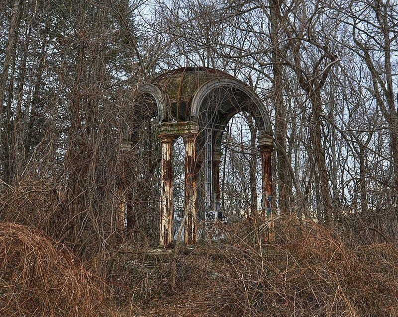 Derelict ruins of the so-called Hell House in Patapsco Valley State Park