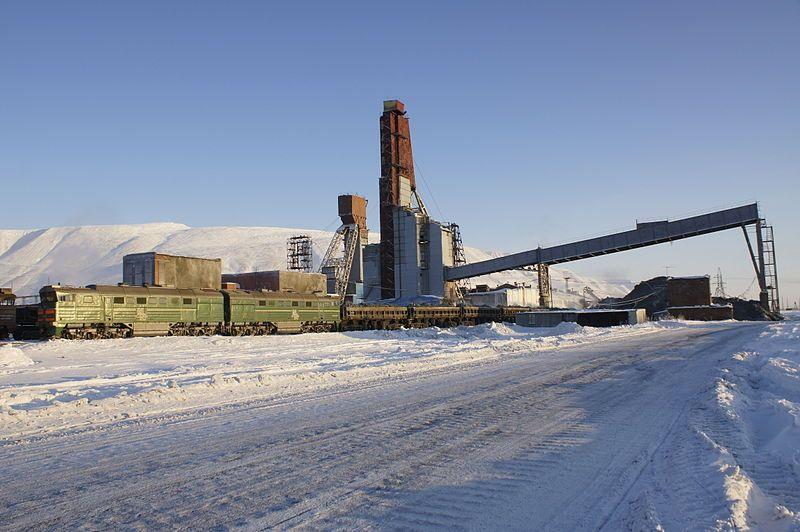 Industrial design in Norilsk, Russia