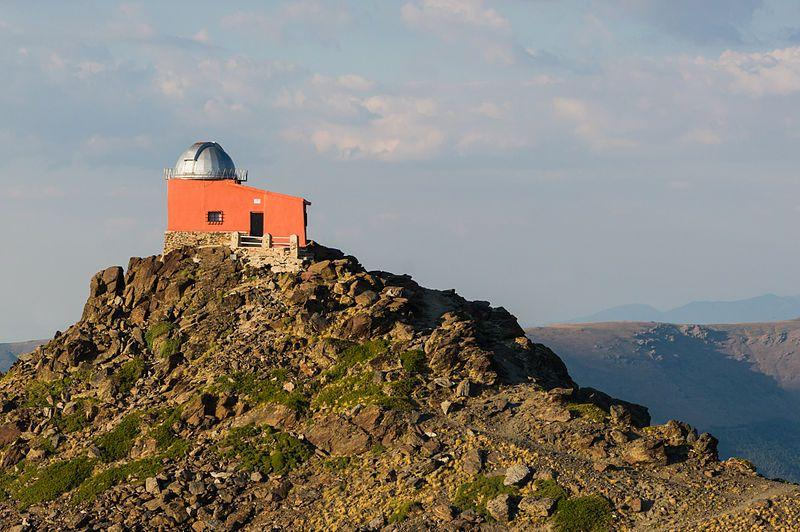 The once-derelict Mohon del Trigo Observatory has now been restored