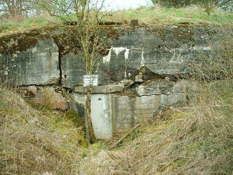 Abandoned wartime defences and fortifications on the Siegfried Line