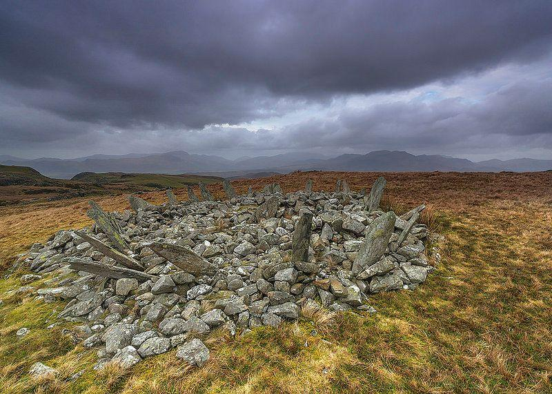 Bryn Cader Faner: an ancient ring cairn in Snowdonia